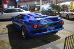 Blue Lambourghini Diablo in Zhongshan (Back)