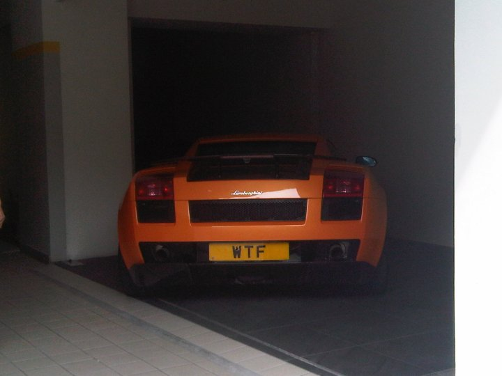 Lambourghini Gallardo is WTF
